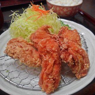 あごだし漬け唐揚げ定食(とんかつレストランてつ兵衛 金成店 (テツベエ))