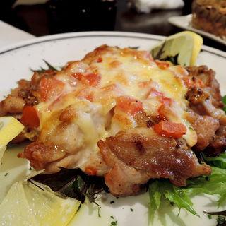 チキントマトチーズ焼き(旬味旬菜 大和)