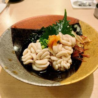 白子ポン酢(寿司 鮪家(つなや))