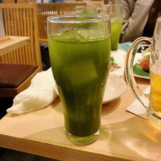 緑茶ハイ(寿司 鮪家(つなや))