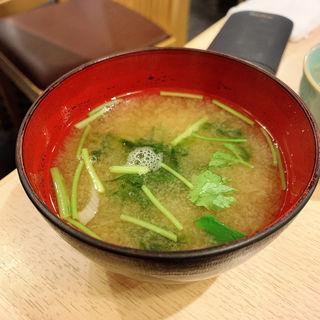 海苔汁(寿司 鮪家(つなや))