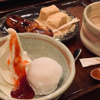いちご大福セット(甘党まえだ なんばCITY店 )