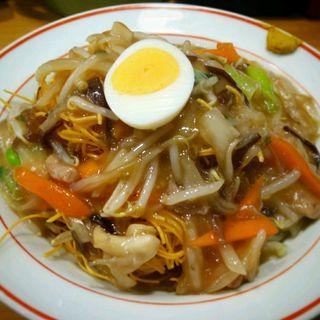 皿うどん(名代ラーメン亭 天神店 (なだいらーめんてい))