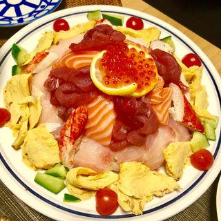 寿司ケーキ(旬味旬菜 大和)