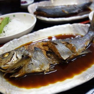 イサキの煮付け定食(福魚食堂)