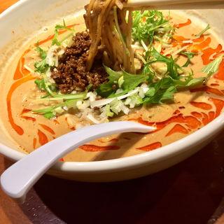 濃厚白胡麻担担麺(天神ササラ)