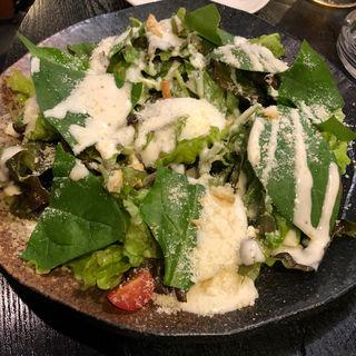 ほうれん草のシーザーサラダ(焼鳥はなび)