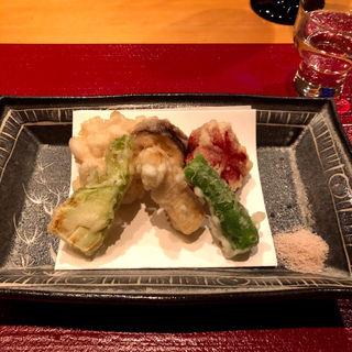 季節の天ぷら(分とく山 ホテルインターコンチネンタル東京店 (わけとくやま))