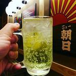 沖縄ソーダ泡ハイボールライム