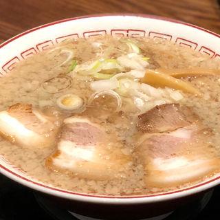 しょうゆラーメン中トロ丼セット(きたかた食堂 南久宝寺店)