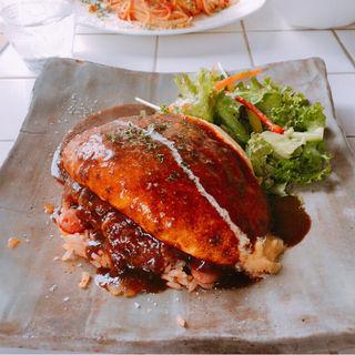 オムライス(青い鳥のレストラン )