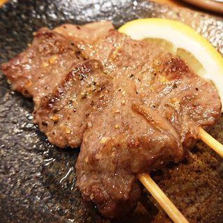 牛カルビ串焼き<2本>(鐵一 溝の口店 (テツイチ))