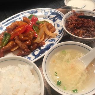 日替わり定食+ミニ麻婆豆腐(陳麻婆豆腐 赤坂店 (チンマーボードウフ))