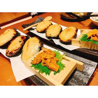ウニトースト 竹炭バケット(八吉 八重洲店 (やきち))