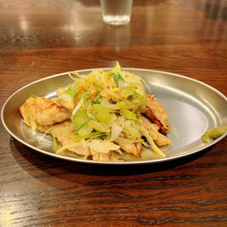 セセリ塩糀ネギ焼(八堂八)