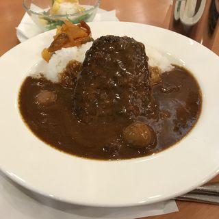 ハンバーグカレー(カフェ珈琲館 内神田店 )