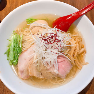 香彩鶏だし特製塩ラーメン(麺屋 翔 品川店 )