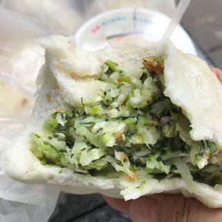 雪裡紅素包(光復市場素食包子店)