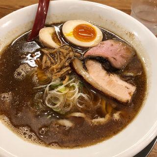 喜多方らーめん 煮干 味玉付き(麺や 七彩 八丁堀店)