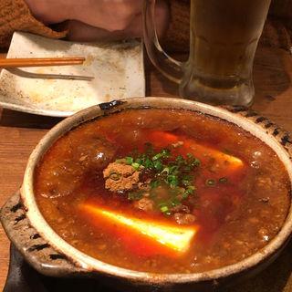 麻婆豆腐(肉汁餃子製作所 ダンダダン酒場 中目黒店)