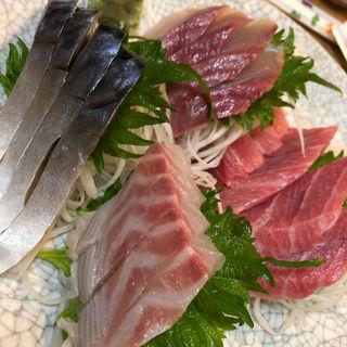 刺し盛り定食(魚源 )