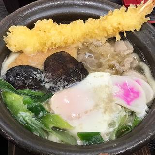 鍋焼うどん(資さんうどん 魚町店)