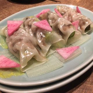 アスパラ焼売(隆麺 (リュウメン))