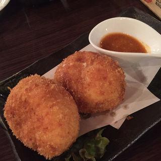 蟹クリームコロッケ(開陽亭 すすきの2号店)
