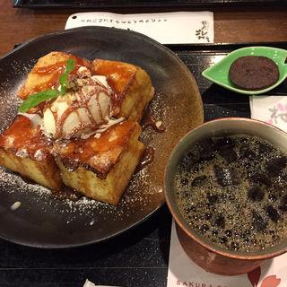 フレンチトースト(桜珈琲 鳳本店 )