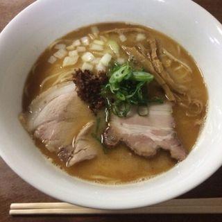 【期間限定】味噌煮干しラーメン(柳麺 多むら)