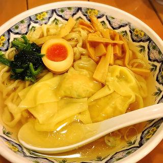 エビワンタン麺(中国ラーメン揚州商人 立川店 (チュウゴクラーメン・ヨウシュウショウニン))