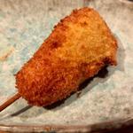 つぼみ菜(串揚げ)