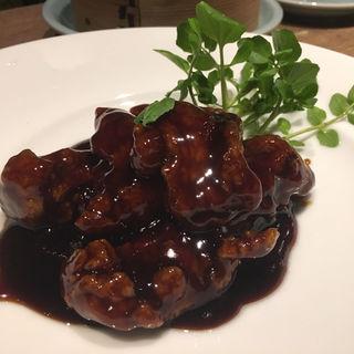 香り豊かな黒酢酢豚(隆麺 (リュウメン))