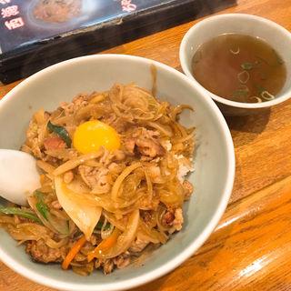 肉丼(中国料理 西海 (サイカイ))