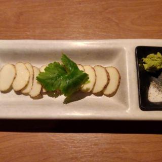 自然薯の刺身(自然薯 tororo (ジネンジョ トロロ))