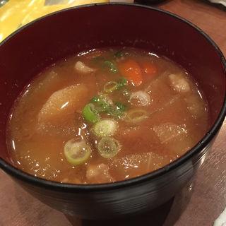 ラブリー特製豚汁(串かつラブリー )