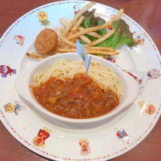 お子さまスパゲティ(アンパンマン&ペコズキッチン)