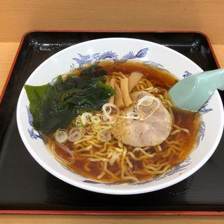 正油ラーメン(梅もと 新宿西口店 )