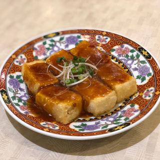 中華風ソース揚げ出し豆腐(中華食堂一番館 西武新宿駅前店)
