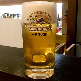 生ビール(たく海 )