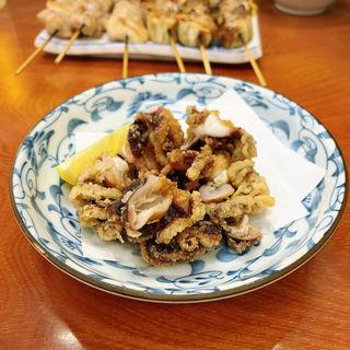 イイダコの唐揚げ(大衆割烹 藤八 (たいしゅうかっぽうとうはち))