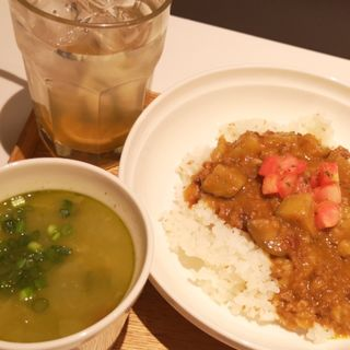 カレーとスープのセット(スープストックトーキョー ルミネ池袋店 (Soup Stock Tokyo))