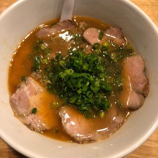 海老とんこつラーメン(醤油)