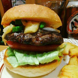 スケアリーモンスターズバーガー(The Burgerlion-バーガリオン)