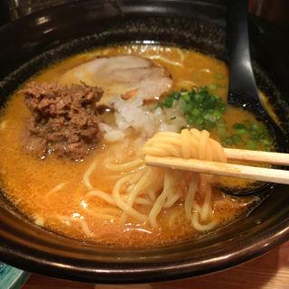 さんまの肝味噌ラーメン(魚骨ラーメン 鈴木さん )