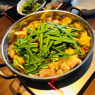 もつ鍋定食(もつ鍋笑楽 (しょうらく))