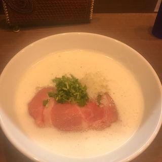 TORI白湯ラーメン(麺~leads~なかの )