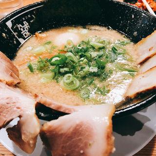 チャーシュー麺(河童ラーメン本舗千日前本店 (かっぱらーめんほんぽ))