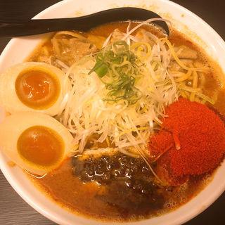 辛口ガチ味噌肉ソバ(辛口ガチ味噌肉ソバ ひるドラ 本店 )