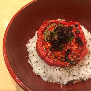 ローストトマト飯(饗 くろ喜 (もてなし くろき/饗 くろ㐂))